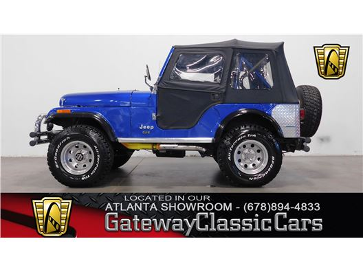 1976 Jeep CJ5 for sale in Alpharetta, Georgia 30005