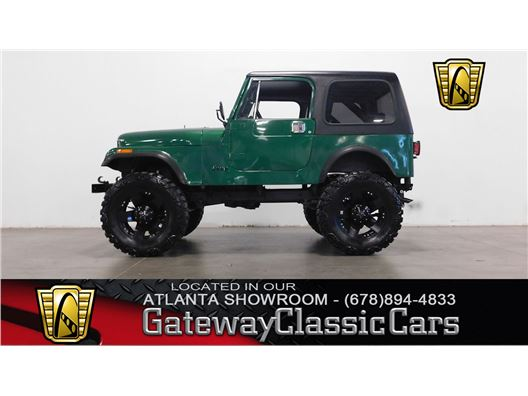 1985 Jeep CJ7 for sale in Alpharetta, Georgia 30005