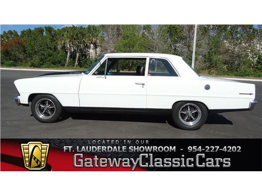 1967 Chevrolet Nova for sale in Coral Springs, Florida 33065