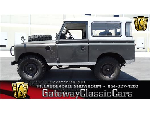 1983 Land Rover IIIA for sale in Coral Springs, Florida 33065