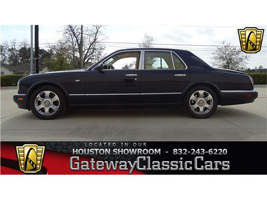 2001 Bentley Arnage for sale in Houston, Texas 77090