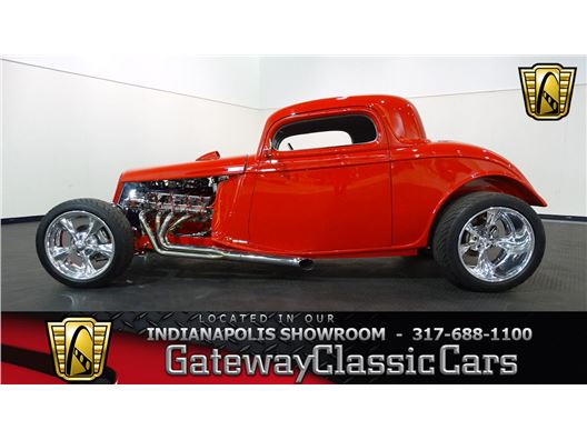 1933 Ford 3 Window for sale in Indianapolis, Indiana 46268