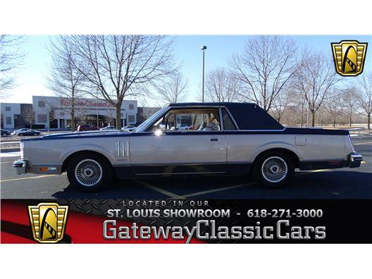 1981 Lincoln Continental for sale in OFallon, Illinois 62269