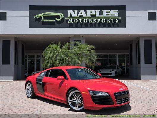 2011 Audi R8 5.2 quattro for sale in Naples, Florida 34104