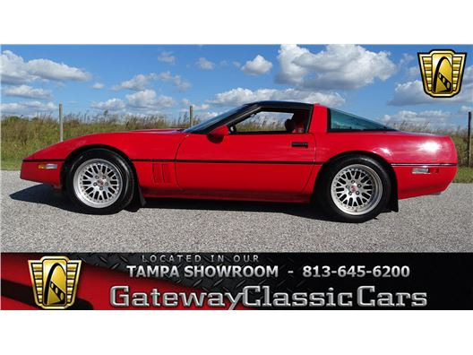 1990 Chevrolet Corvette for sale in Ruskin, Florida 33570