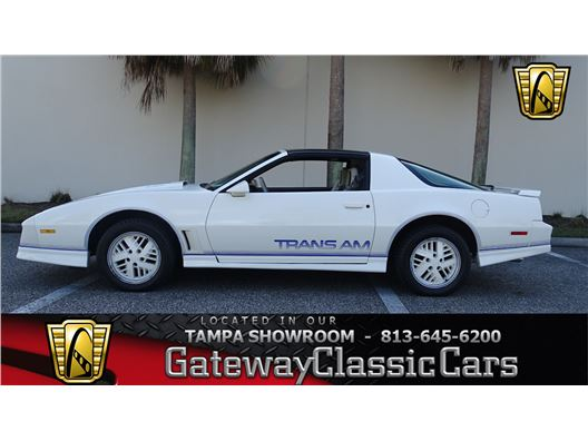 1984 Pontiac Firebird for sale in Ruskin, Florida 33570