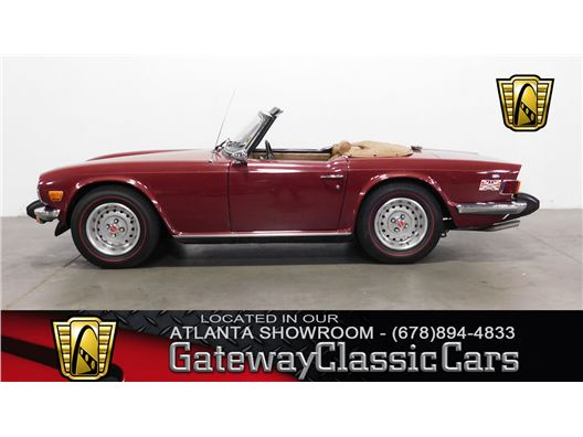 1976 Triumph TR6 for sale in Alpharetta, Georgia 30005