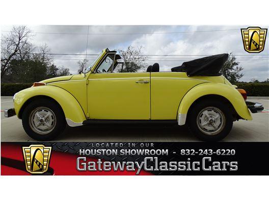 1979 Volkswagen Beetle for sale in Houston, Texas 77090
