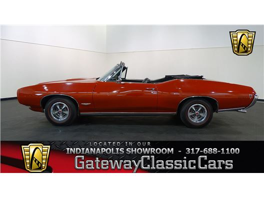 1968 Pontiac GTO for sale in Indianapolis, Indiana 46268