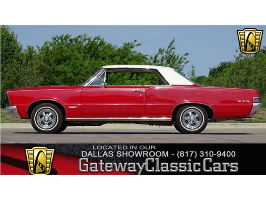 1965 Pontiac GTO for sale in DFW Airport, Texas 76051