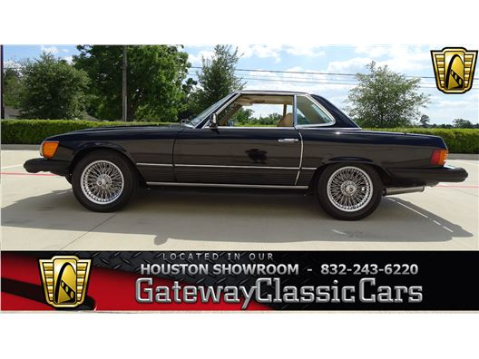 1976 Mercedes-Benz 450SL for sale in Houston, Texas 77090