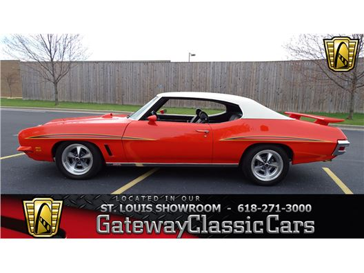 1972 Pontiac GTO for sale in OFallon, Illinois 62269