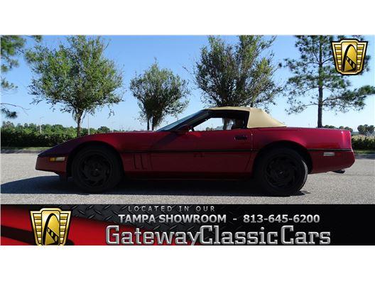 1990 Chevrolet Corvette for sale in Ruskin, Florida 33570