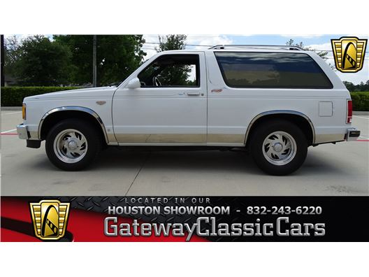 1988 Chevrolet Blazer for sale in Houston, Texas 77090