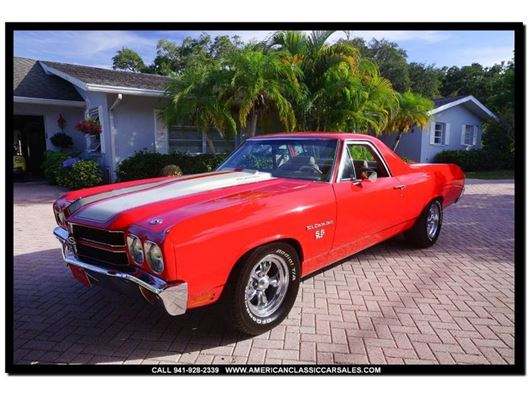 1970 Chevrolet El Camino for sale in Sarasota, Florida 34232
