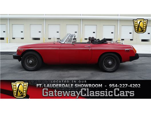 1979 MG B for sale in Coral Springs, Florida 33065