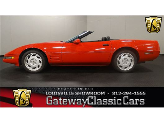 1991 Chevrolet Corvette for sale in Memphis, Indiana 47143