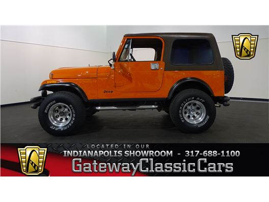 1983 Jeep CJ7 for sale in Indianapolis, Indiana 46268
