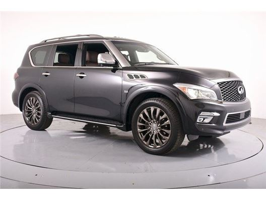 2017 Infiniti Qx80 for sale in Dallas, Texas 75209