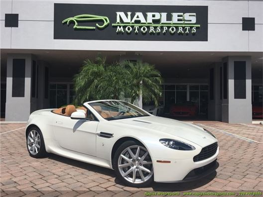 2013 Aston Martin Vantage Roadster for sale in Naples, Florida 34104