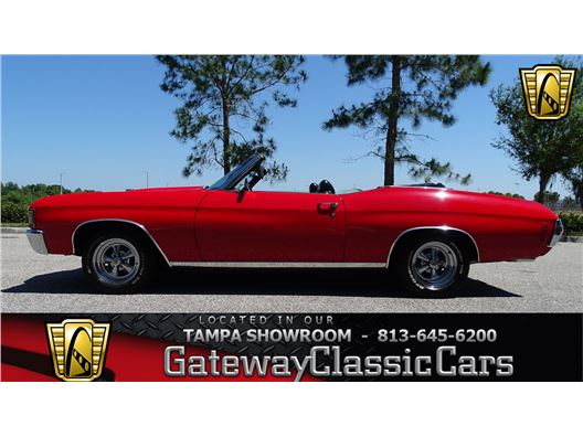 1971 Chevrolet Chevelle for sale in Ruskin, Florida 33570