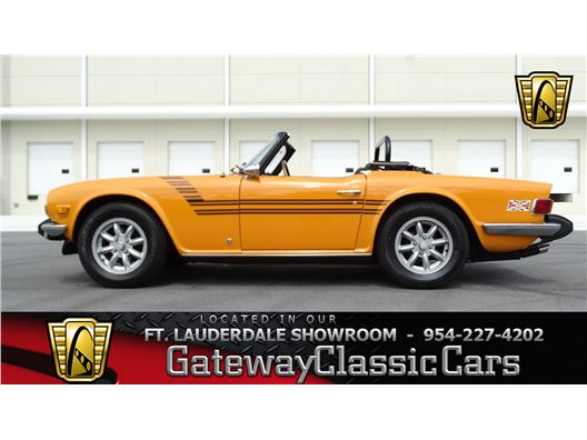 1975 Triumph TR6 for sale in Coral Springs, Florida 33065
