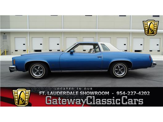 1974 Pontiac Grand Prix for sale in Coral Springs, Florida 33065