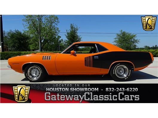 1971 Plymouth Barracuda for sale in Houston, Texas 77090