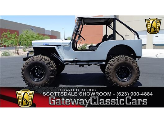 1948 Willys CJ2A for sale in Deer Valley, Arizona 85027