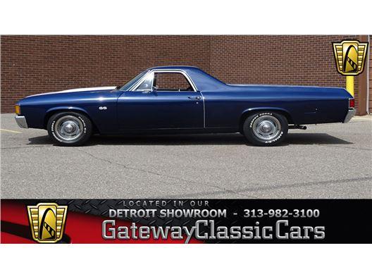 1972 Chevrolet El Camino for sale in Dearborn, Michigan 48120