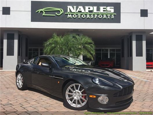 2006 Aston Martin Vanquish S for sale in Naples, Florida 34104