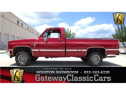 1982 Chevrolet K10 for sale in Houston, Texas 77090