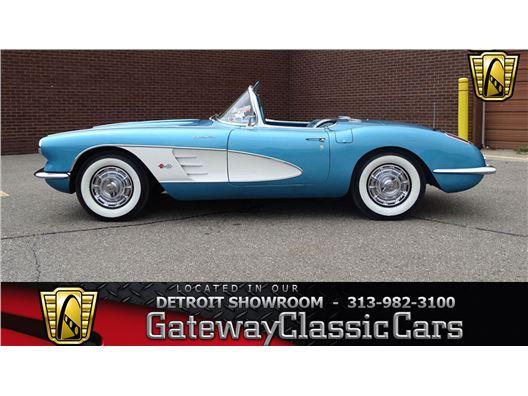 1959 Chevrolet Corvette for sale in Dearborn, Michigan 48120