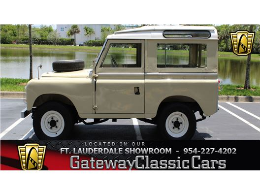 1970 Land Rover IIA for sale in Coral Springs, Florida 33065