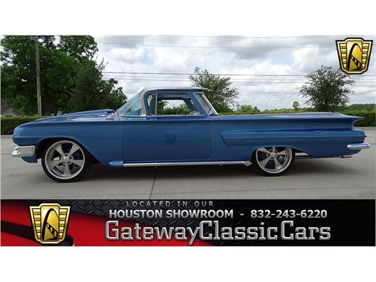 1960 Chevrolet El Camino for sale in Houston, Texas 77090