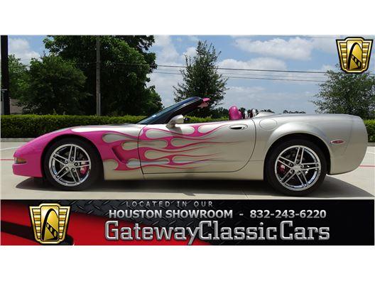 2002 Chevrolet Corvette for sale in Houston, Texas 77090