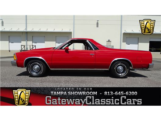 1981 Chevrolet El Camino for sale in Ruskin, Florida 33570