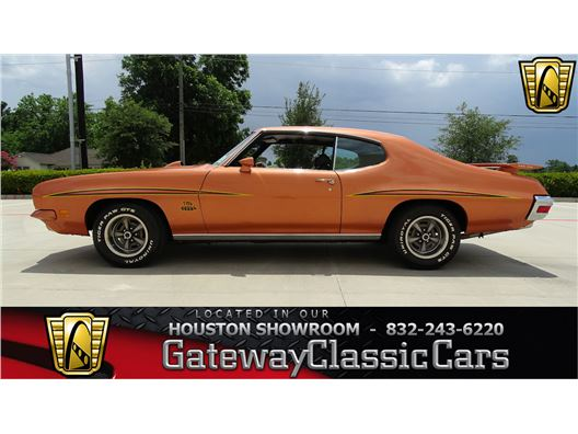 1971 Pontiac GTO for sale in Houston, Texas 77090