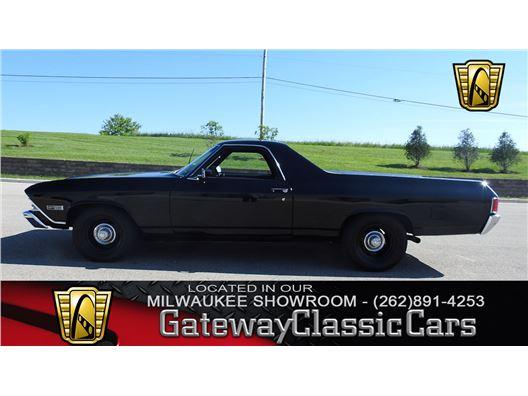 1968 Chevrolet El Camino for sale in Kenosha, Wisconsin 53144