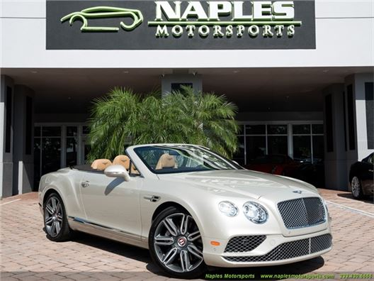 2016 Bentley Continental GT GTC V8 Convertible for sale in Naples, Florida 34104