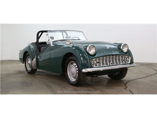 1960 Triumph TR3 for sale in Los Angeles, California 90063