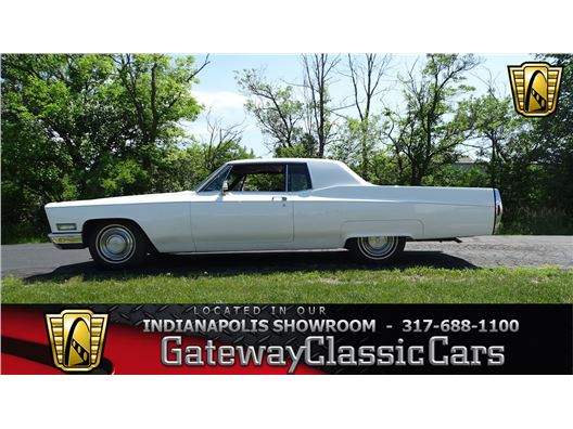 1968 Cadillac Coupe deVille for sale in Indianapolis, Indiana 46268