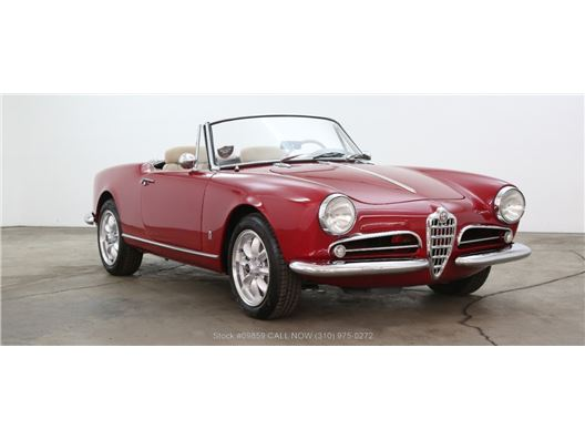 1960 Alfa Romeo Giulietta Spider for sale in Los Angeles, California 90063