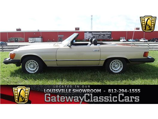 1982 Mercedes-Benz 380SL for sale in Memphis, Indiana 47143
