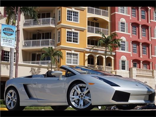 2008 Lamborghini Gallardo Spyder for sale in Naples, Florida 34104