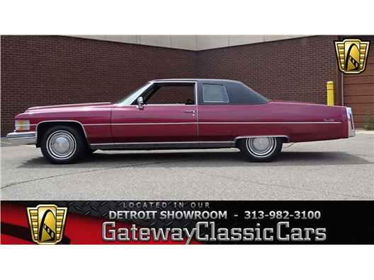 1974 Cadillac DeVille for sale in Dearborn, Michigan 48120