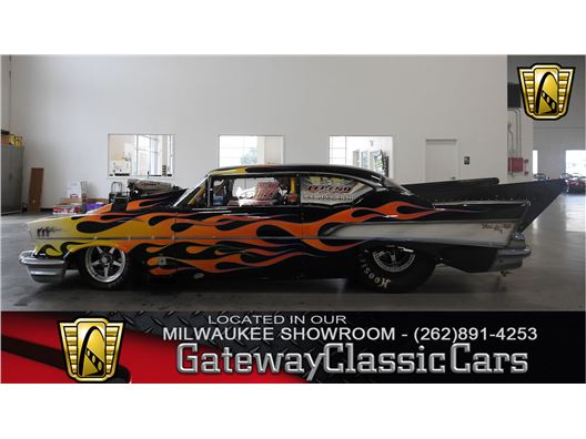 1957 Chevrolet Bel Air for sale in Kenosha, Wisconsin 53144