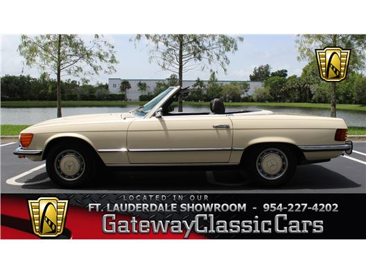 1973 Mercedes-Benz 450SL for sale in Coral Springs, Florida 33065