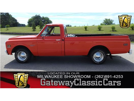 1972 Chevrolet C10 for sale in Kenosha, Wisconsin 53144