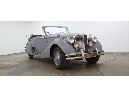 1950 Jaguar MKV DHC for sale in Los Angeles, California 90063